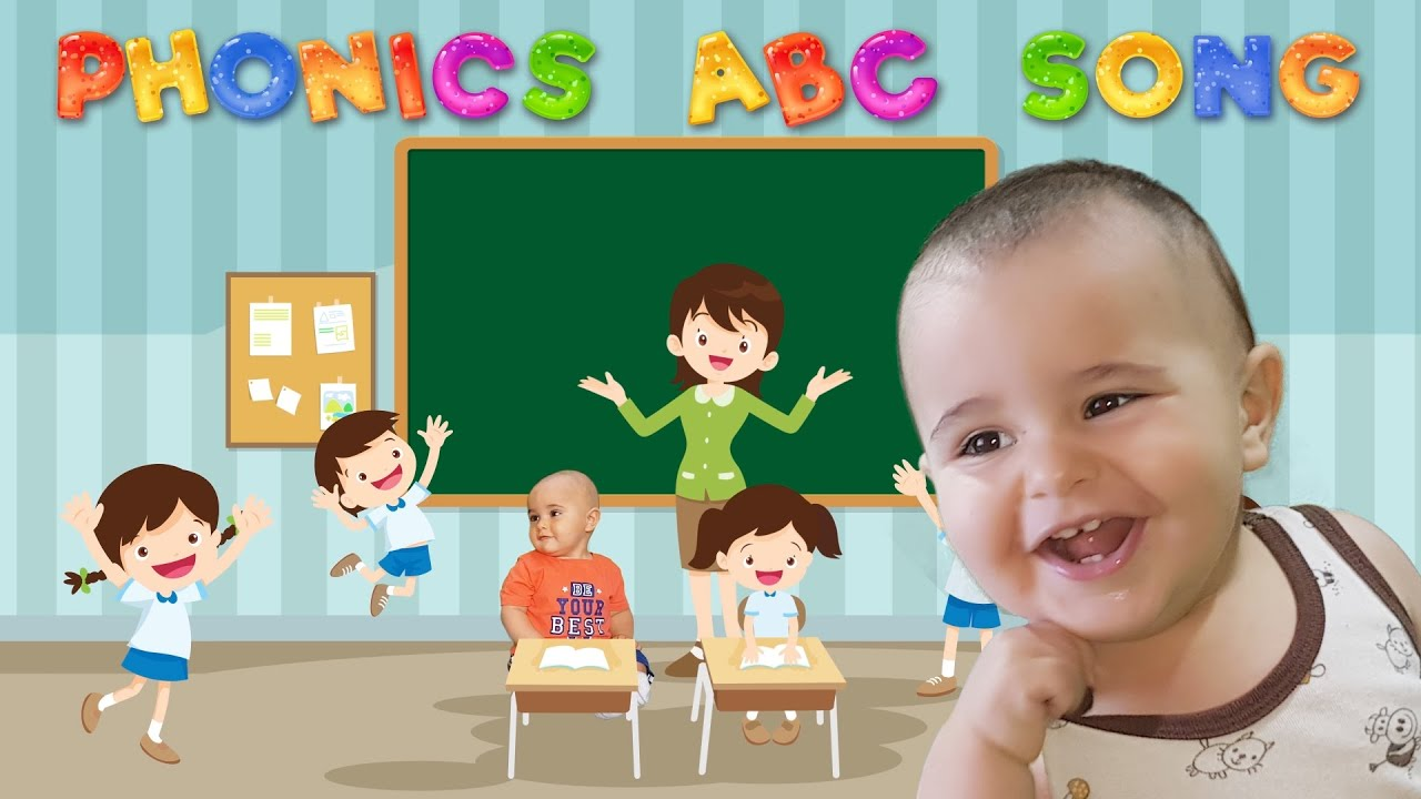 ABC Song   Nursery Rhymes & Kids Songs   with 1 year old ...