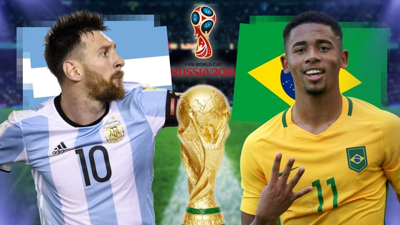 Brasilien Vs Argentinien