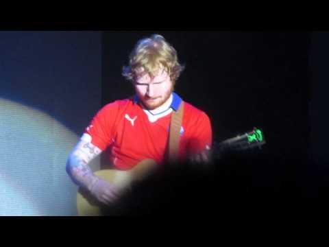 """Ed Sheeran """"Mijito Rico"""" X Tour Live in Chile"""
