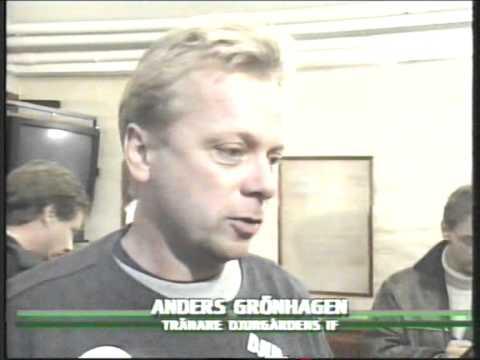 Djurgårdens IF-Halmstads BK Allsvenskan 1995 SVT