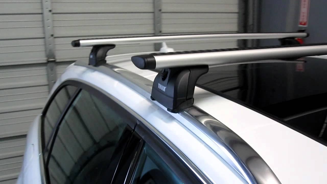 Audi a4 avant 2017 roof bars 13