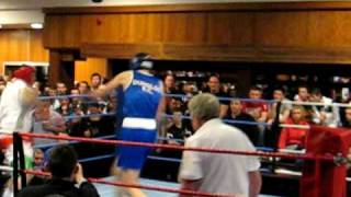 pat mc donagh boxing at fir trees round one