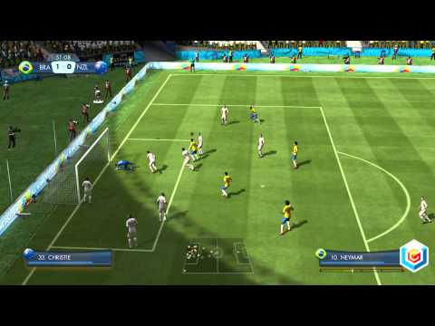 2014 FIFA World Cup Brazil Demo Gameplay  PlayStation 3Xbox 360