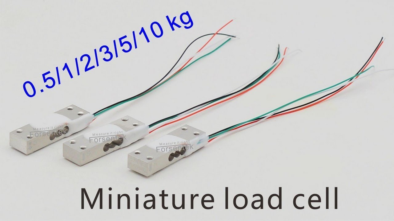 Miniature Load Cell Small Size For Arduino Youtube Measurement Circuit
