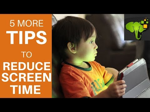 Set Limits on Kids' Screen Time