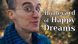GREEN DAY - Boulevard of Broken Dreams (WAY TOO HAPPY ACOUSTIC COVER!)