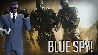 Black Blues The Spy! Porno-Mag Easter Egg, Rainbow Six Highlights.