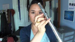 Flute 101: how to put it together, where your fingers go, how to clean it, & all that jazz...