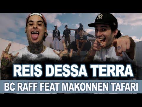 "BC Raff ""Reis Dessa Terra"" feat Makonnen Tafari  REACT  ANÁLISE VERSATIL RAIZ"