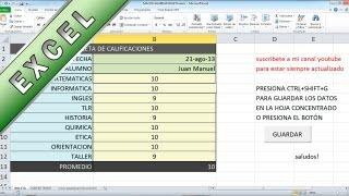 Tutorial Excel - Macro que Copia, Ordena y guarda informacion