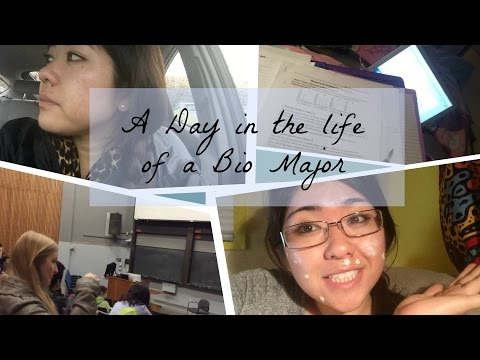 A Day In The Life of A Biology Major | Stress and Laughter