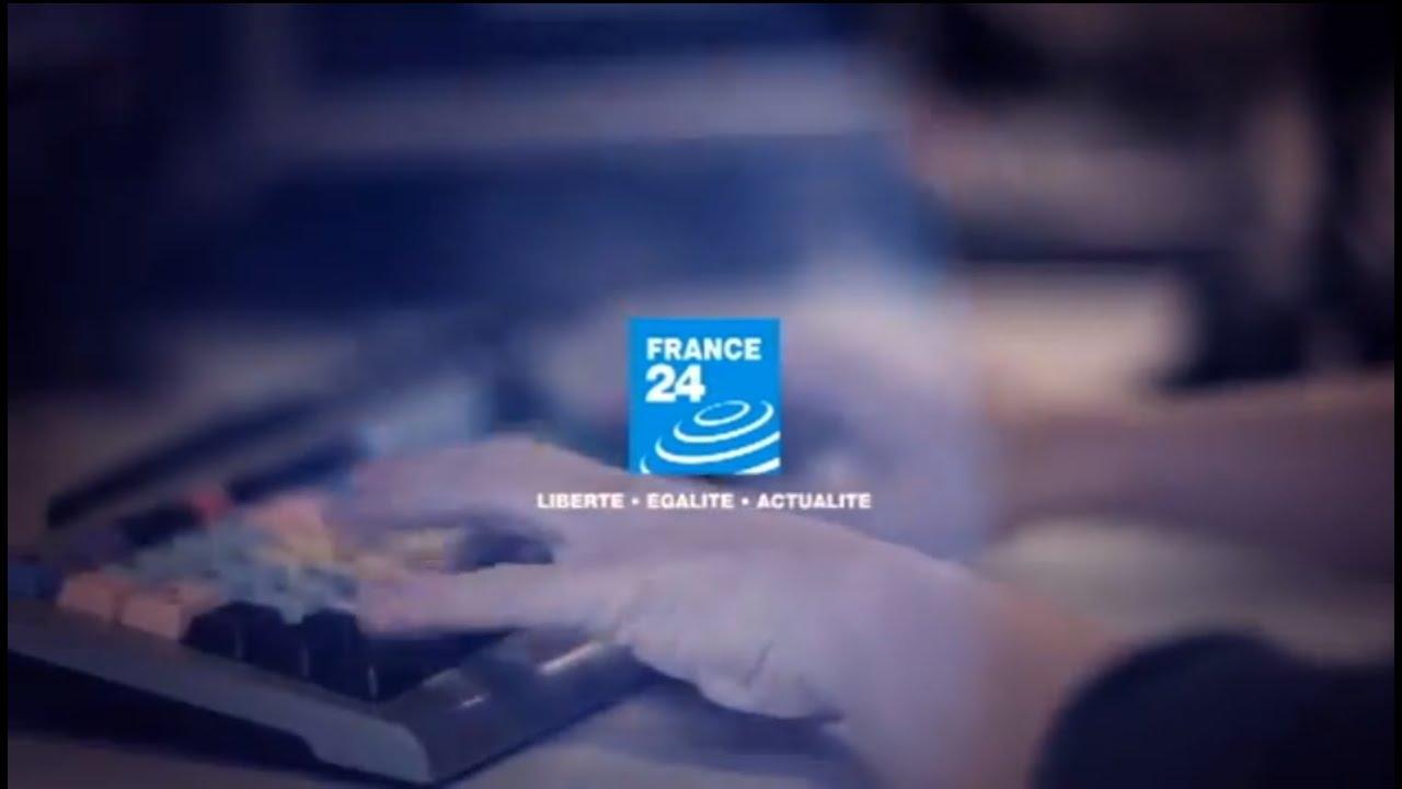 Le nouvel habillage de la chaîne France 24