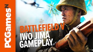 Battlefield 5 War in the Pacific | One hour of explosive Iwo Jima gameplay