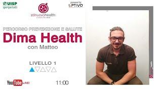 Percorso prevenzione e salute - Dima Health - Livello 1 - 1 (Live)