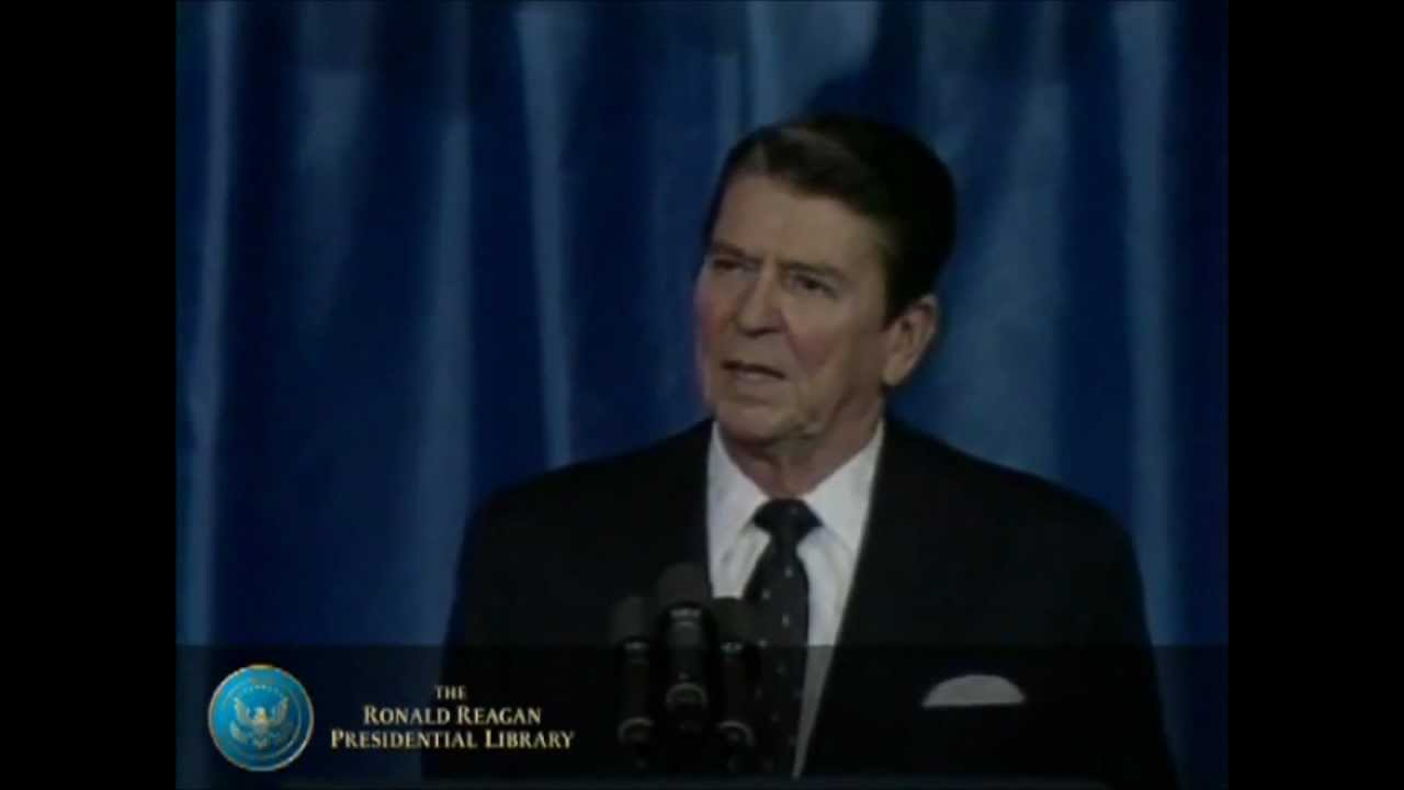 ronald reagan evil empire speech Reagan's evil empire speech clarified the moral issues of the cold war  in  1983 president reagan gave a famous speech in which he.