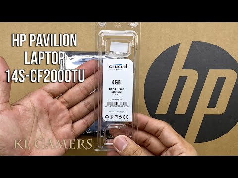 hp Pavilion Laptop 14s-cf2000TU Unbox Upgrade DDR4 RAM and Seagate Barracuda 2.5 inch HDD