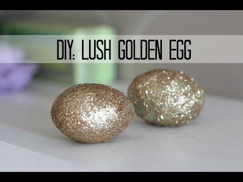 Thumbnail: Lush DIY: GOLDEN EGG- bath melt and bath bomb in one ! + demo!