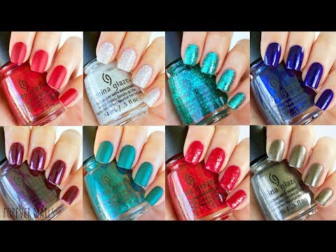 China Glaze Glam Finale Collection | Swatch & Review