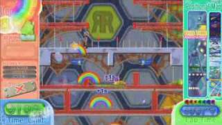 Rainbow Islands: Towering Adventure! - time attack(speedrun) mode [area2 - 0