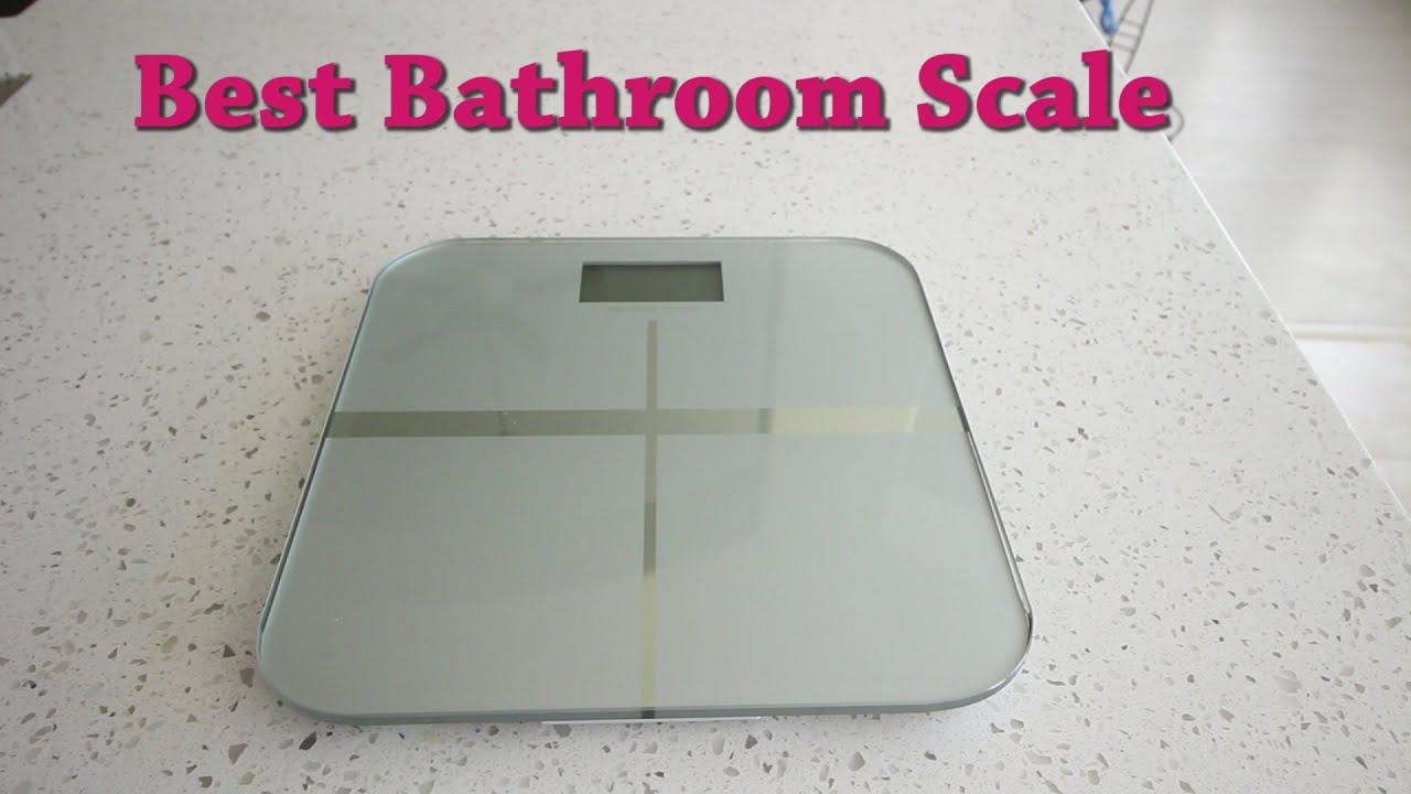 best bathroom scale  BalanceFrom High Accuracy Premium