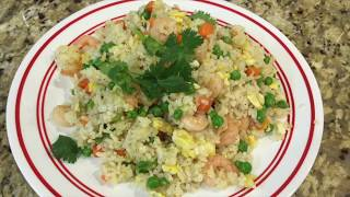 JAPANESE HIBACHI SHRIMP FRIED RICE RECIPE - BY  SUNNY SWIRL HOME AND GARDEN