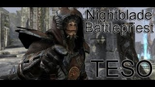 Elder Scrolls Online - Nightblade Battlepriest - Arial Bomber and Healer - ESO 001