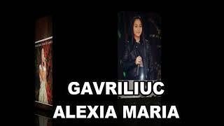 GAVRILIUC ALEXIA MARIA
