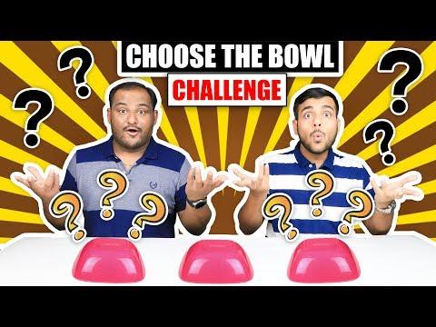 CHOOSE THE BOWL CHALLENGE | Bowl Challenge | Brother Vs Brother | Viwa Brothers