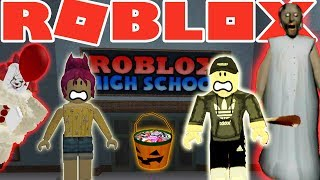 ROBLOX - France L'école secondaire HaLLoWeeN