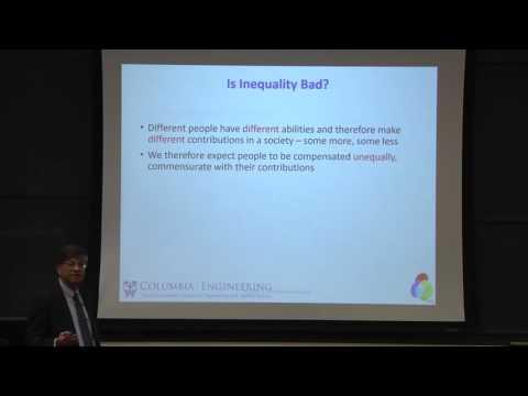 Can Extreme Income Inequality Pose Systemic Risk? -Venkat Venkatasubramanian