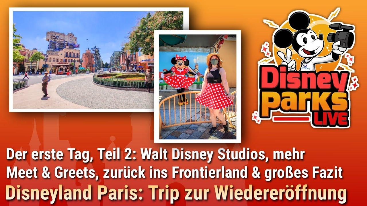 Der erste Tag in Disneyland Paris Teil 2 mit dem Walt Disney Studios Park | dein-dlrp Vlog