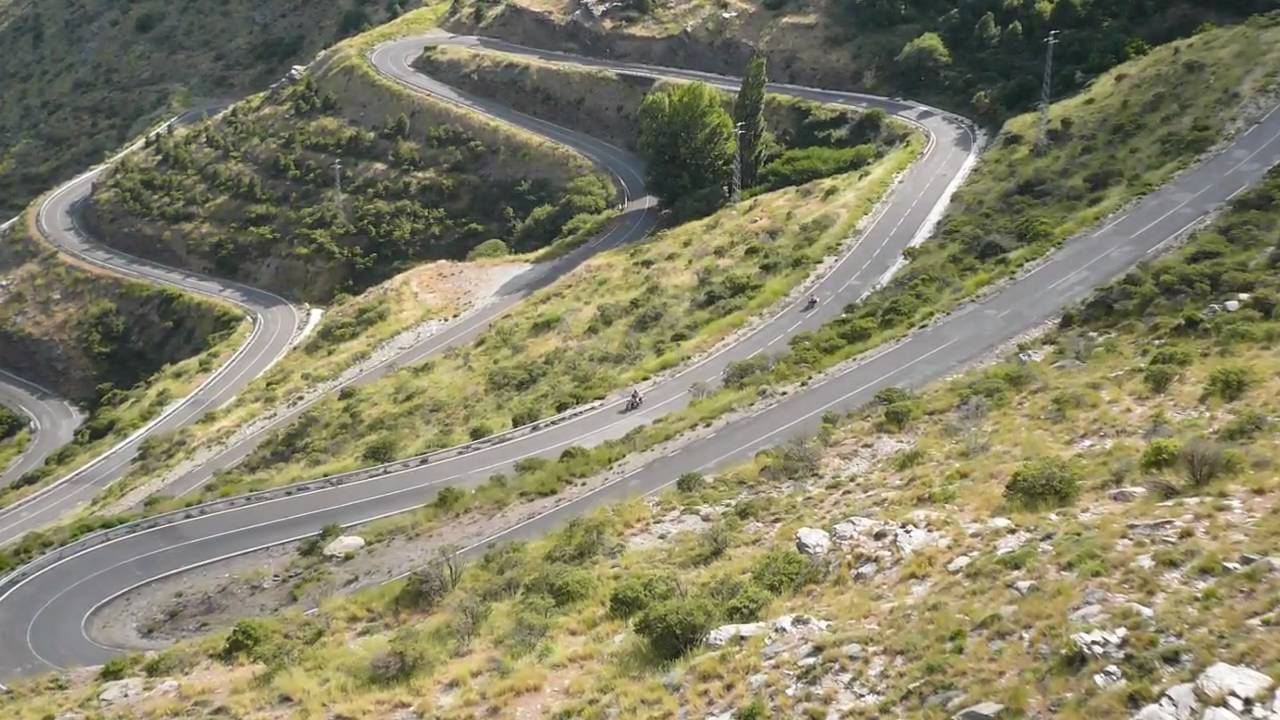 Motorcycle Riding In Spain
