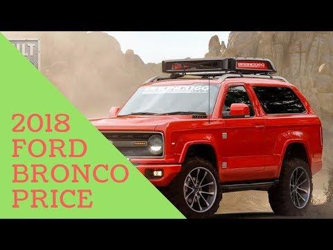 New!! 2020 Ford Bronco Price