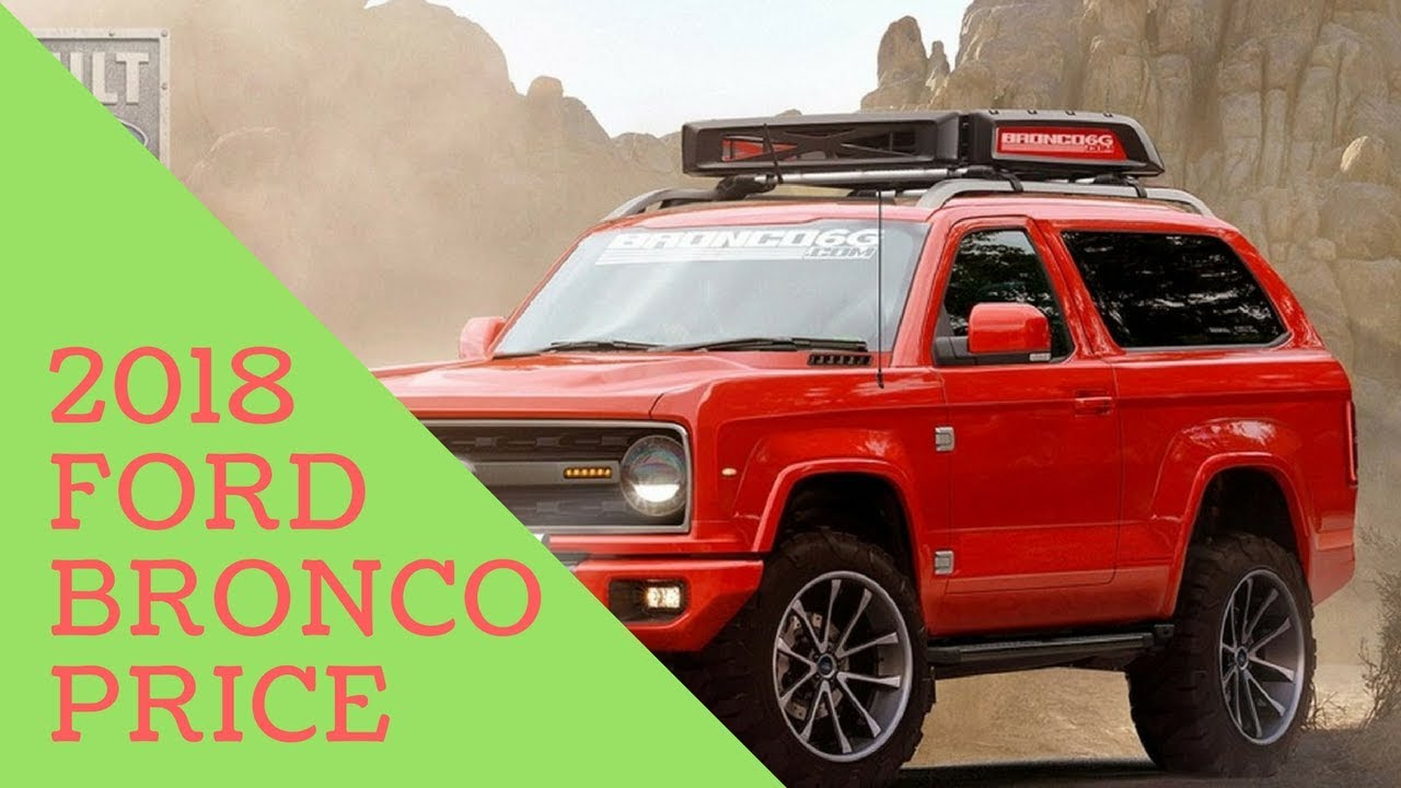 new!! 2020 ford bronco price - youtube