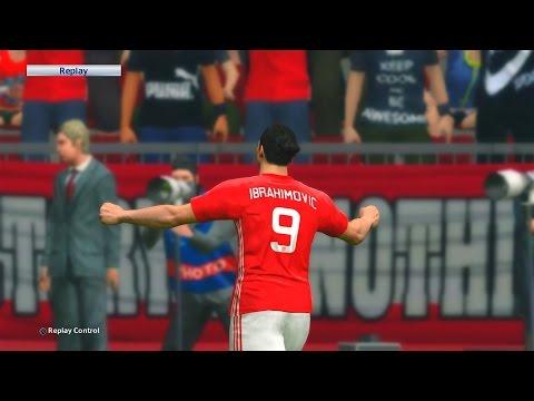 Zlatan Ibrahimovic Best Goals Compilation - PES2017