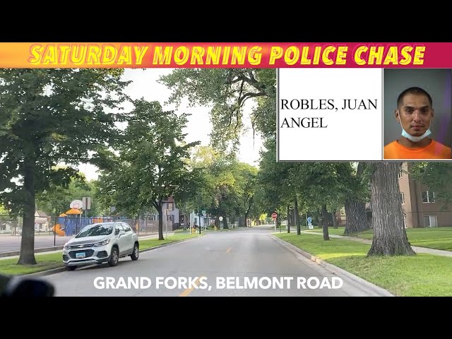 UPDATE: Saturday Morning Pursuit In Grand Forks
