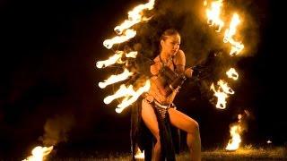 Красивое огненное шоу Черкассы