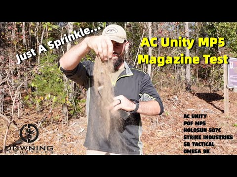 AC Unity MP5 Magazine Test