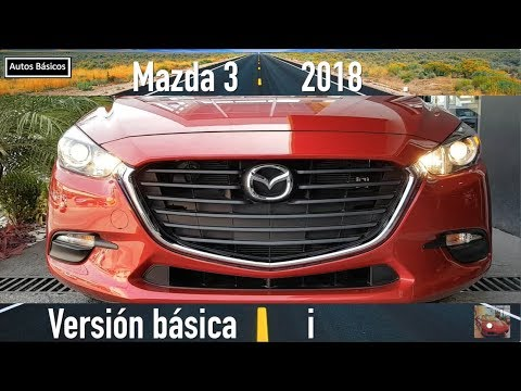 Mazda 3 2018 basico