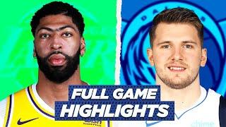 LAKERS At MAVERICKS GAME HIGHLIGHTS   2021 NBA Season
