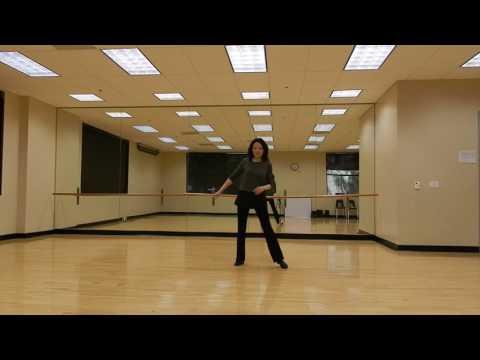 Easy Rumba --- Walk Through / Line Dance