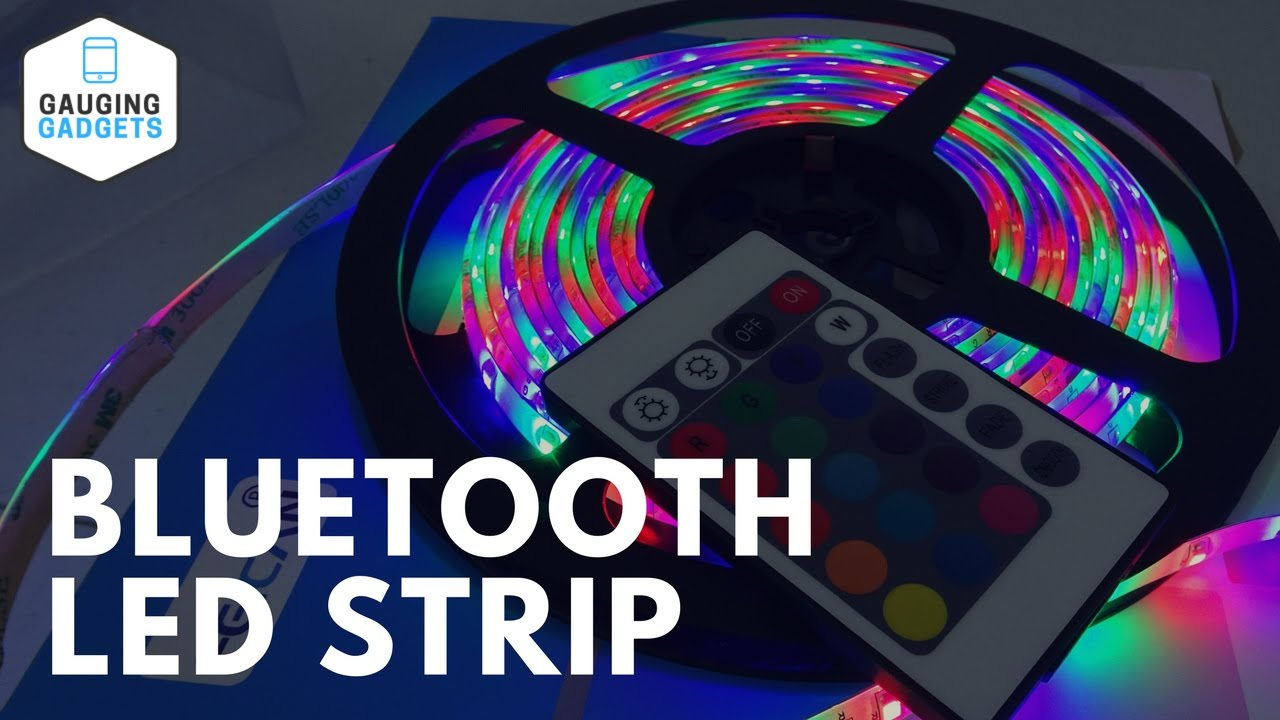 Led Light Strips Rgb Feican Smart Led Light Strip Review Bluetooth Led Rgb Strip Setup Tutorial