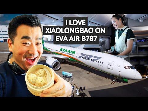 I LOVE XiaoLongBao On EVA AIR B787 Dreamliner