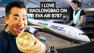I LOVE XiaoLongBao on EVA AIR B787 Dreamliner