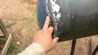 Making A Bbq Pit Out Of A Water Heater