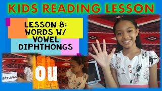How to read Words w/ Vowel Diphthongs