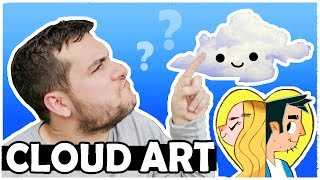 CLOUD ART ADVENTURE - Drawing what we see!