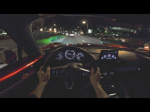 2019 Mazda Miata MX-5 RF Club (Manual) - POV Night Drive