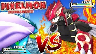 MINECRAFT POKEMON MODDED BATTLEDOME TOURNAMENT MINIGAME - PIXELMON MINECRAFT MOD CHALLENGE #3