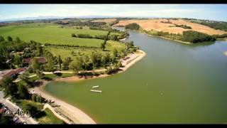 Lac de la Thésauque , situé entre Nailloux et Montgeard